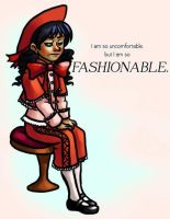 UNCOMFORTABLE BUT FASHIONABLE by Kaxen6