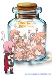 A bottle full of Vanille by HazuraSinner