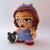 Dorothy Gale Munny by sparr0