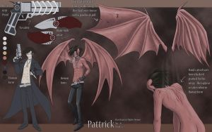 Pattrick's Bio by pyrogina