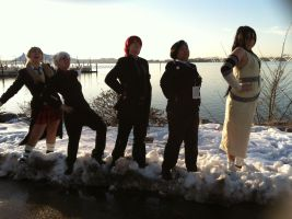 Soul Eater on Ice by RayniaSky