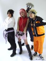 Team 7 shippuden 1 by Suki-Cosplay