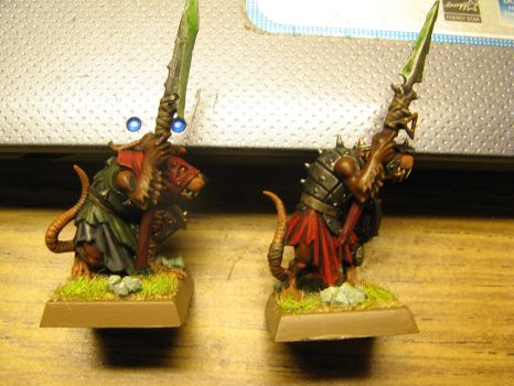 Skaven Clanrats by Arival