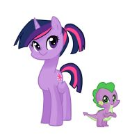 My Teenage Pony: Twilight and Spike by kilala97