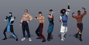 Champions of Earthrealm by Jiggeh