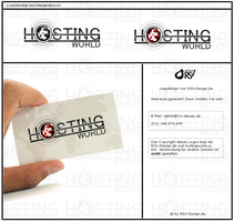 Hostingworld.cc Logodesign by pcwunder