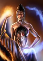 avatar: fire siblings by alecyl