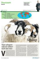 Trouw New Design Weekly Animal Page by AngelsWillFallFirst