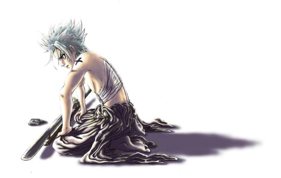 Hitsugaya Toushirou - colored by kuroneko3132