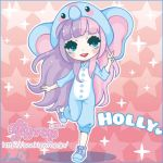 Holly commission by saaki-pyrop
