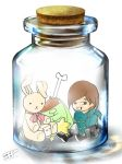 Onew in a bottle by Pulimcartoon