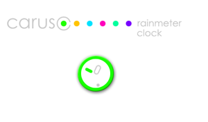 Caruso Clock by Leuchtstoff
