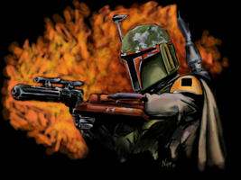 Boba Fett by Darksun75