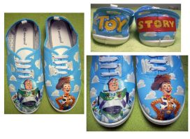toy story shoes by zuzyah