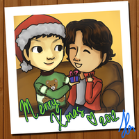 Junyoung Kwanghee XMAS 2012 by shougar