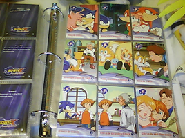 .:Sonic X Cards:. 73 - 81 by SEGAMew
