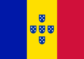 Flag of Portuguese Andorrans by hosmich