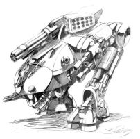Mecha by ARMORMAN