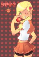 Applejack by framboosi