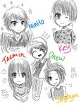 SHINee FANART by PolestarRemnants13