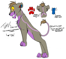 Tavc - Feral Reference by SikiSpots