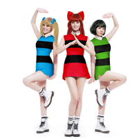 Orange Caramel as Powerpuff girls by heyho151