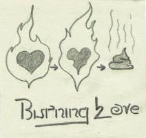 Burning love by xoyooyox