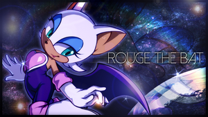 Rouge at Mad Space Wallpaper by TheBlazyPics