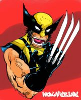Wolverine, Kenj-Style in Color by Kenji-Seay
