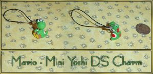 Mario - Mini Yoshi DS Charm by YellerCrakka