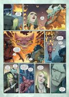 WEIRDING WILLOWS page 3 Final Art BARNABY BAGENDA by DeevElliott