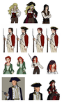 Pirates of the Caribbean AU by rayn44