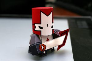 Red Castle Crasher Constructed by crzisme