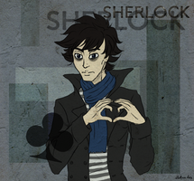 Fandomstuck: Sherlock by Laknea