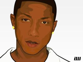 Pharrell Williams by 5MILLI