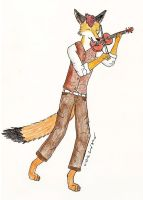 The Violinist by Rnewman012