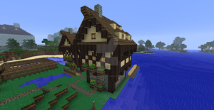 Minecraft village houses by UNDEADWARRIOR7411