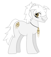 Request - Bakura Ponyfied by partiallyBatty
