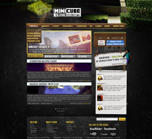 MInecraft web design by rEspaWn16