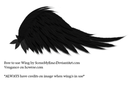 FREE TO USE WING STOCK by SceneMyEmo
