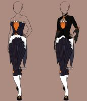 Fashion Adoptable Auction - CLOSED by Karijn-s-Basement