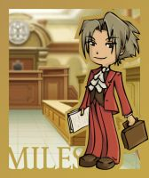 gs: miles edgeworth by Kairisia