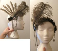 Steampunk Headband by LRMHamilton