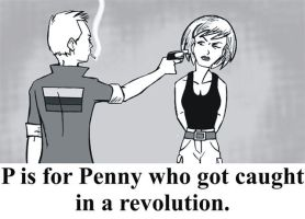 P is for Penny by BloodyWilliam
