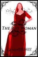 The red woman by DarioPC17