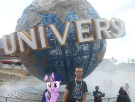 Me and Twily at Universal Studios Florida by RarityLuver214