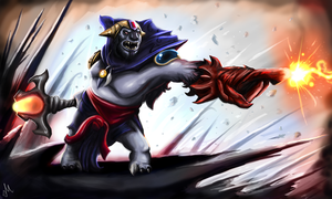 Dota 2 - Lion by MrScrake