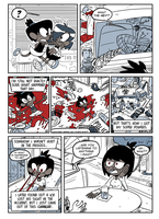 COMIX RubberMan Page 04 by theEyZmaster