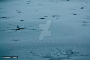 Cracks in the Ice by HSChacko