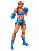 Deborah Kranz Professional Boxing Gear by deadpoolthesecond